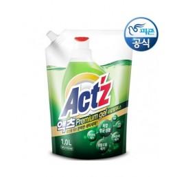 ACTZ PREMIUM GEL Концентрированный гель для стирки белья 1л Эвкалипт
