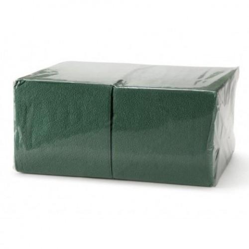 АСТОРИЯ/ДИВА Салфетки бумажные 24х24см 400л Интенсив, Зеленые