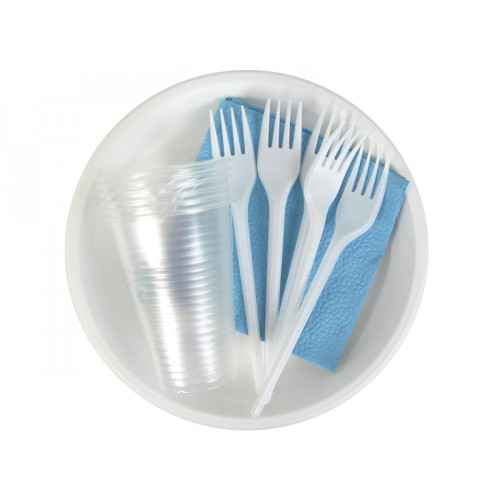 UPAKMARKET Туристический набор посуды 6шт