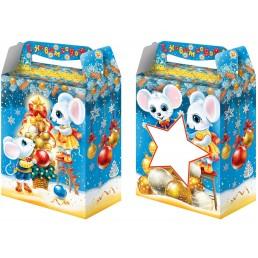 Коробка подарочная НАСТРОЕНИЕ с окном 1000гр