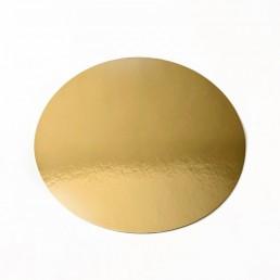 Подложка для торта d-30см h-0,8мм Золото
