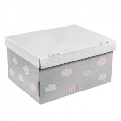 Складная коробка с крышкой 31.2х25.6х16.1см Для воспоминаний арт 2640225