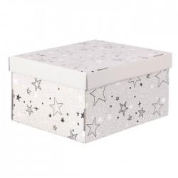 Складная коробка с крышкой 31.2х25.6х16.1см Звездные радости арт 3425493
