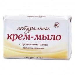 НАТУРАЛЬНОЕ Крем-мыло 90г С протеинами шелка