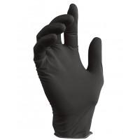 NITRILE Перчатки нитриловые 100шт XL Черные