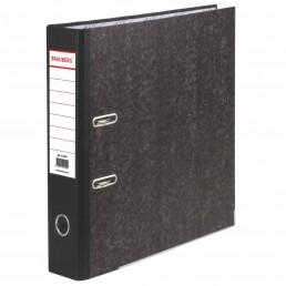 BRAUBERG Папка-регистратор 70мм А4 Черная