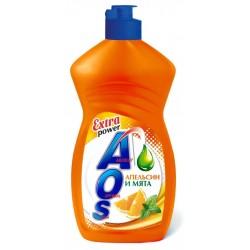 АОС EXTRA POWER Средство для мытья посуды 450г Апельсин и мята