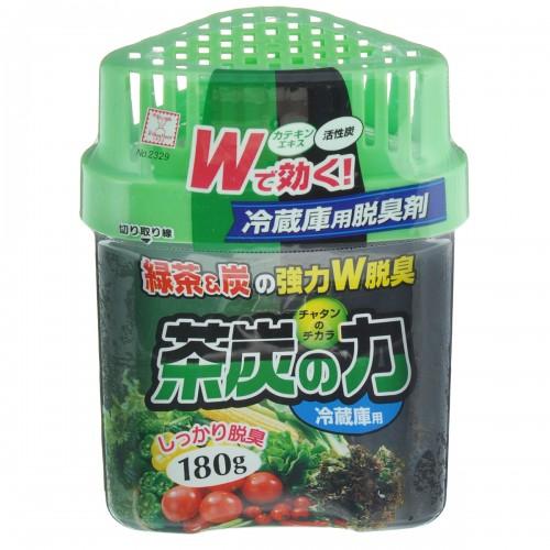 KOKUBO Дезодорант-поглотитель неприятных запахов 180г Сила угля и зеленого чая