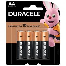 DURACELL Батарейки алкалиновые АА LR6 1.5V 4шт