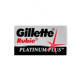 GILLETTE RUBIE Сменные лезвия для безопасных бритв 5шт