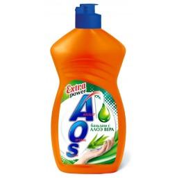 АОС EXTRA POWER Средство для мытья посуды 450г Бальзам Алоэ Вера
