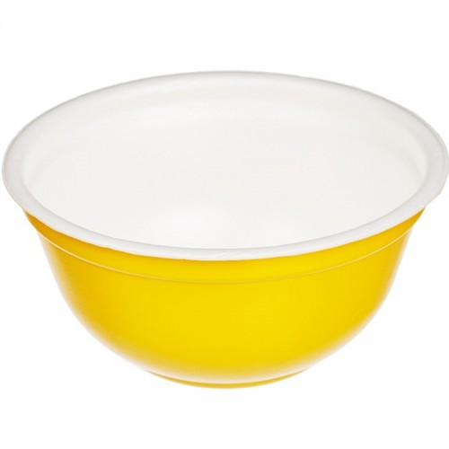 Миска суповая ВПС 500мл с крышкой Жёлтая