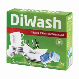 DIWASH Таблетки для посудомоечных машин 60шт