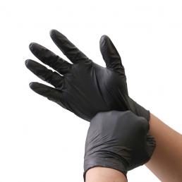 НИТРИМАКС Перчатки нитриловые неопудренные 100шт L Черные