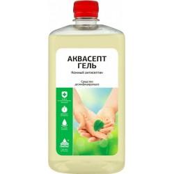 НИКА АКВАСЕПТ Дезинфицирующее средство для рук Антисептик 1л Гель