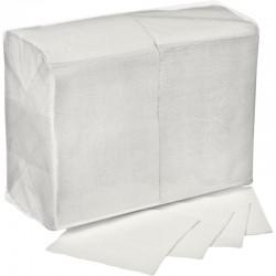 АСТОРИЯ Салфетки бумажные 24х24см 1сл 400л Белые