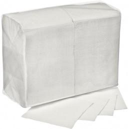 АСТОРИЯ/ДИВА Салфетки бумажные 24х24см 400л Белые