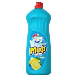 МИФ Средство для мытья посуды 1л Лимонная свежесть