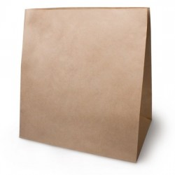 Пакет крафт 320х200х340мм без ручки (№16)