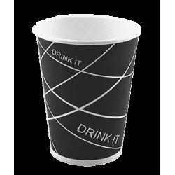 Стакан бумажный одноразовый 350мл д-90мм 50шт Drink it
