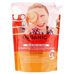 OPF Кондиционер-ополаскиватель для белья 2л Органический персик (М/У)