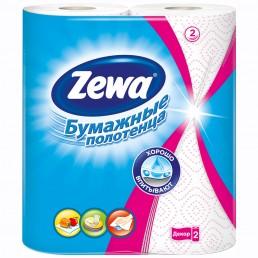 ЗЕВА Бумажные полотенца 2рул Декор