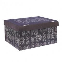 Коробка подарочная складная 31,2х25,6х16,1см Дом там, где сердце арт 2640220
