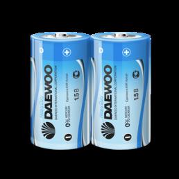 DAEWOO Батарейки солевые R20 2шт