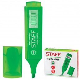 STAFF Текстмаркер 1-5мм Зеленый