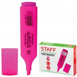 STAFF Текстмаркер 1-5мм Розовый