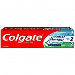 КОЛГЕЙТ Зубная паста 100мл Тройное действие Натуральная мята
