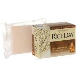 RICE DAY Мыло туалетное 100г Экстракт рисовых отрубей