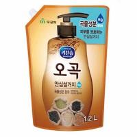 Chamgreen 5 ЗЛАКОВ средство для мытья посуды, овощей и фруктов 1,2л (мягкая упаковка)