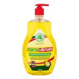 МАМА УЛЬТИМАТ концентрат для мытья посуды 1л лимон