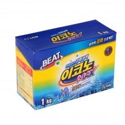 BEAT ECONO MAX Стиральный порошок для автомат. и ручной стирки в холод. воде 1кг