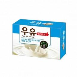 MUKUNGHWA Мыло туалетное твердое 100г Молоко и масло жожоба