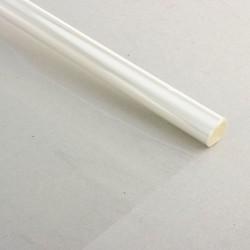 Пленка для цветов прозрачная 900 мм х 6 м, 200 гр, 40 мкм