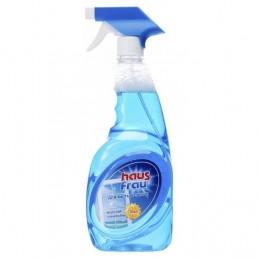 HAUS FRAU Средство для мытья окон и зеркал 750мл Морская свежесть