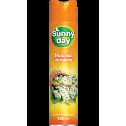 SUNNY DAY Освежитель воздуха 300мл Майский ландыш